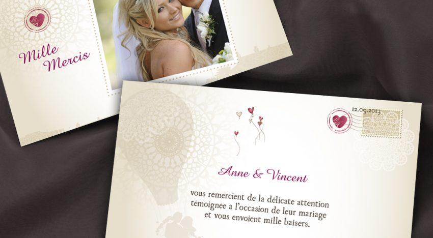 5 styles de texte de remerciement pour un mariage