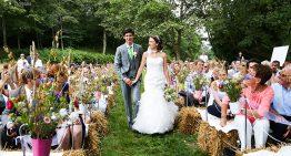 3 exemples d'organisation de cérémonie de mariage extérieur réussies