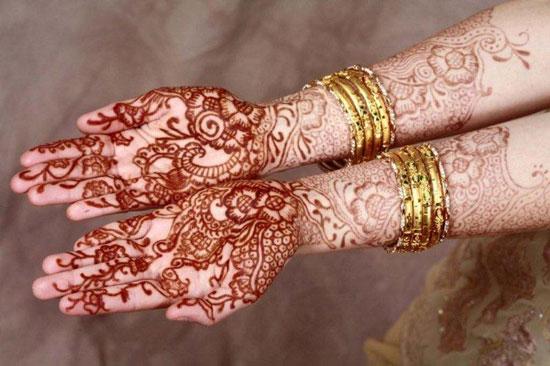 mariage musulman henné