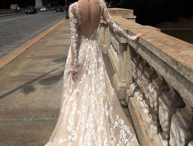 4 robes de mariée dos nu à découvrir