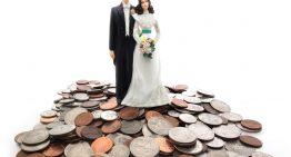 Combien coûte un mariage de nos jours ?