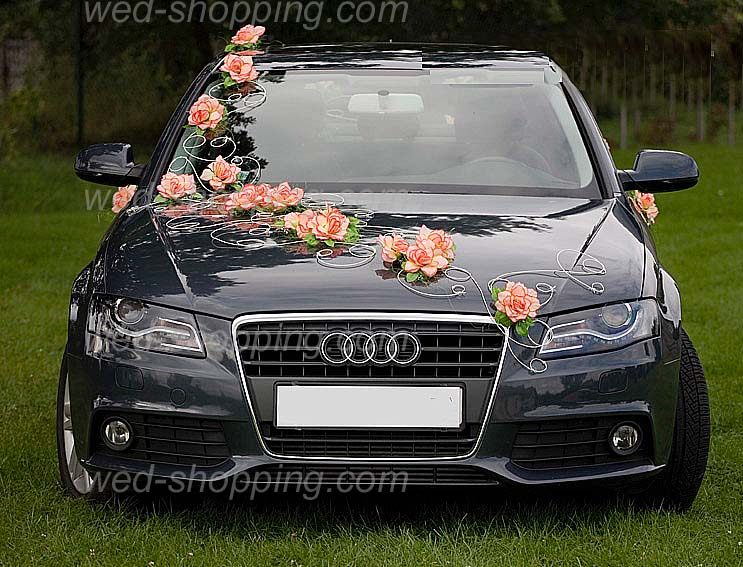 decoration_voiture_mariage_orange_DEK1005_2