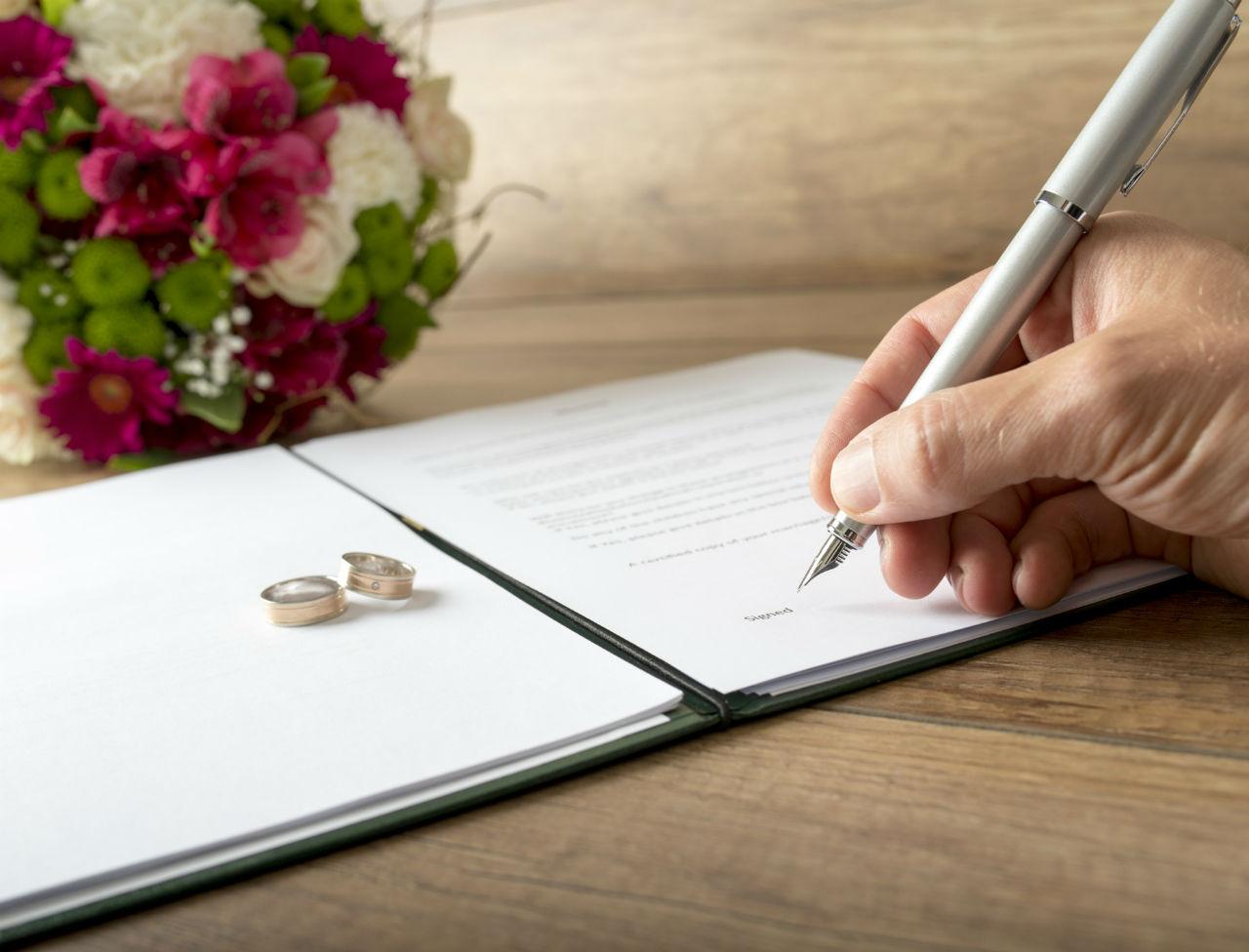 l'important du contrat de mariage